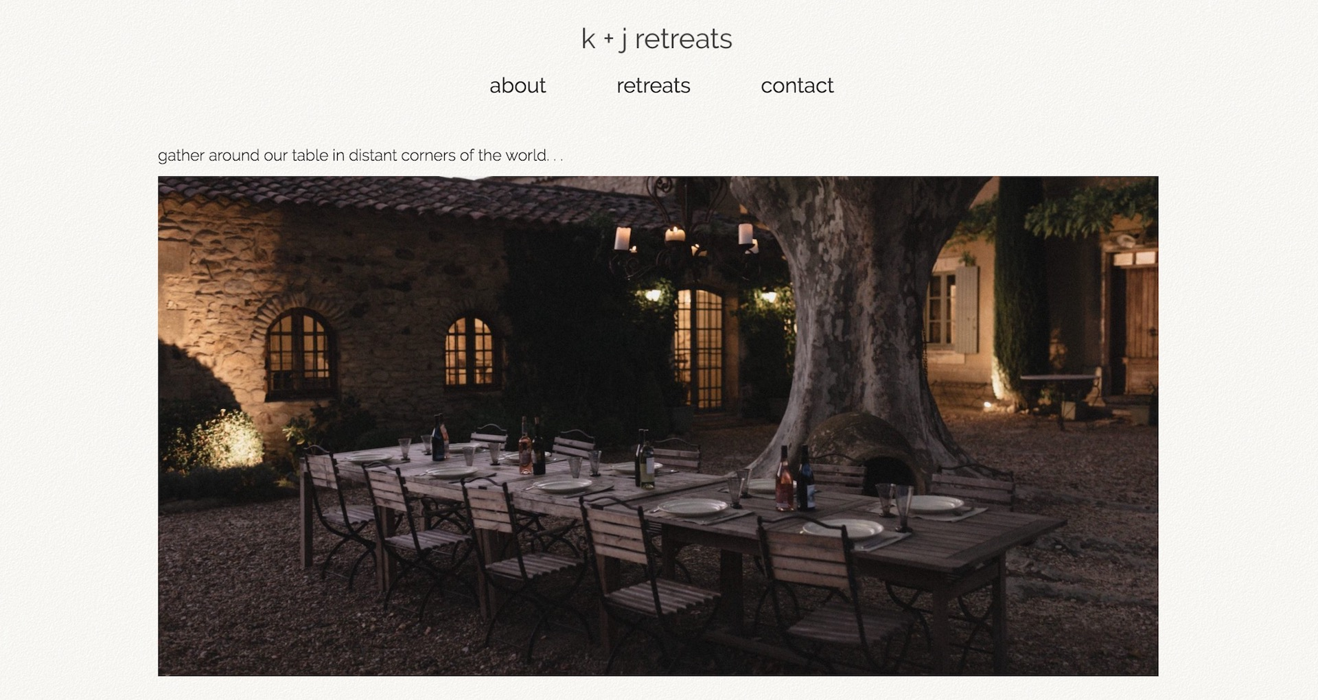 kj retreats